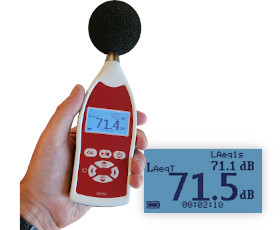cr310 noise at work integrating sound level meter