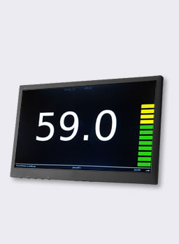 Sound Levels on a Monitor